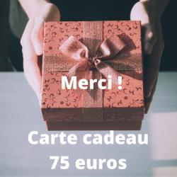 Merci ! carte cadeau 75 euros